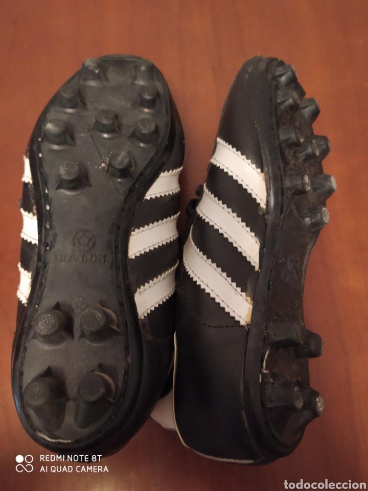 Coleccionismo deportivo: Botas de fútbol vintage marca JOMA, talla 32 originales años 80 sin usar - Foto 7 - 200334271