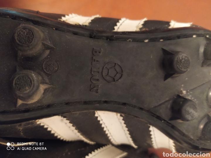 Coleccionismo deportivo: Botas de fútbol vintage marca JOMA, talla 32 originales años 80 sin usar - Foto 8 - 200334271