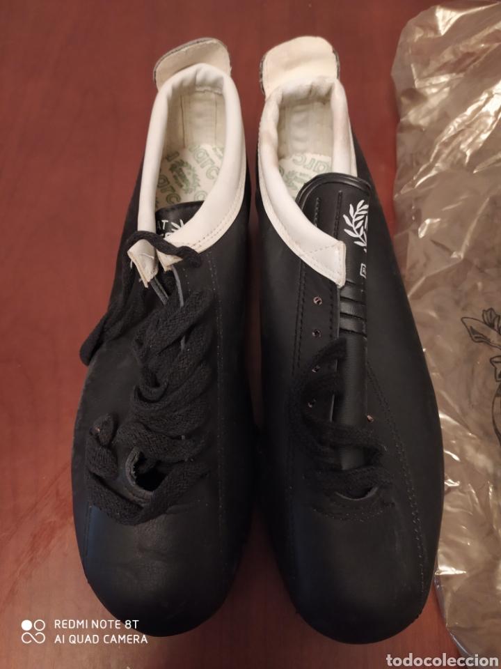 Coleccionismo deportivo: Botas fútbol vintage marca MARCÓ, talla 36 originales años 80 sin usar - Foto 2 - 200336028