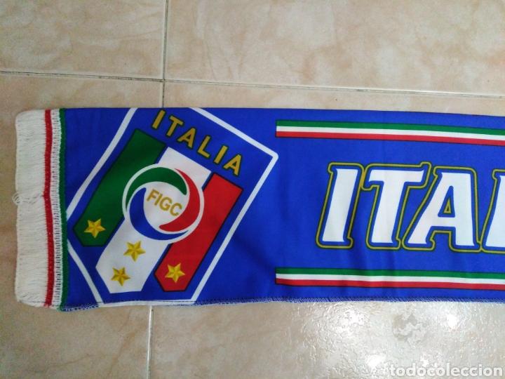 Coleccionismo deportivo: Bufanda Italia ( 18 X 132 ) - Foto 2 - 201129890