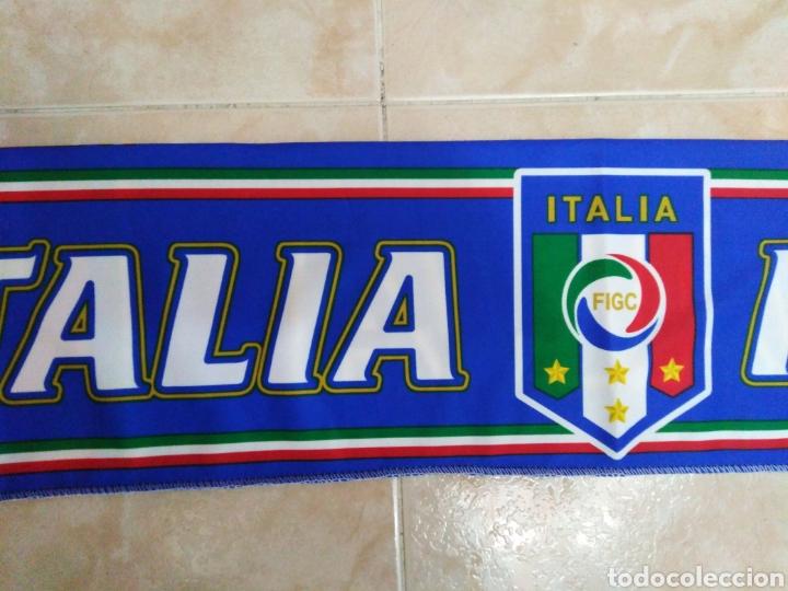 Coleccionismo deportivo: Bufanda Italia ( 18 X 132 ) - Foto 3 - 201129890