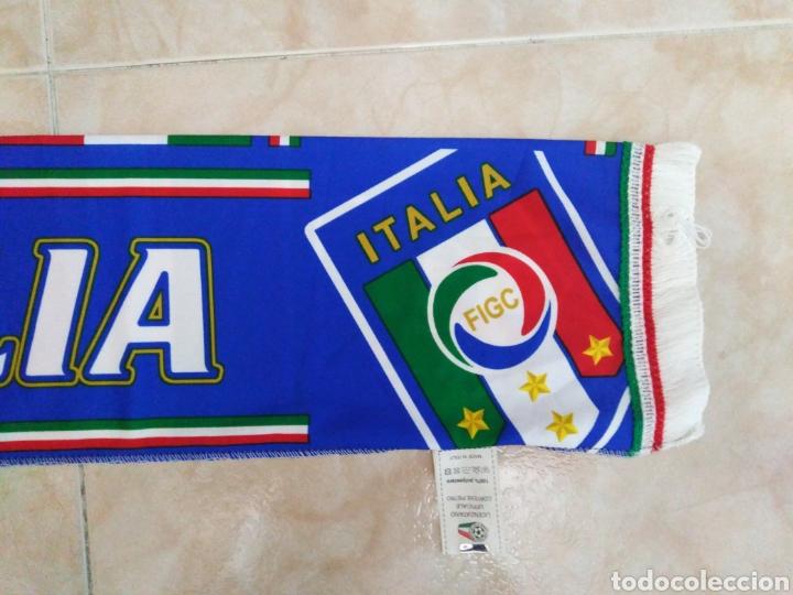 Coleccionismo deportivo: Bufanda Italia ( 18 X 132 ) - Foto 5 - 201129890