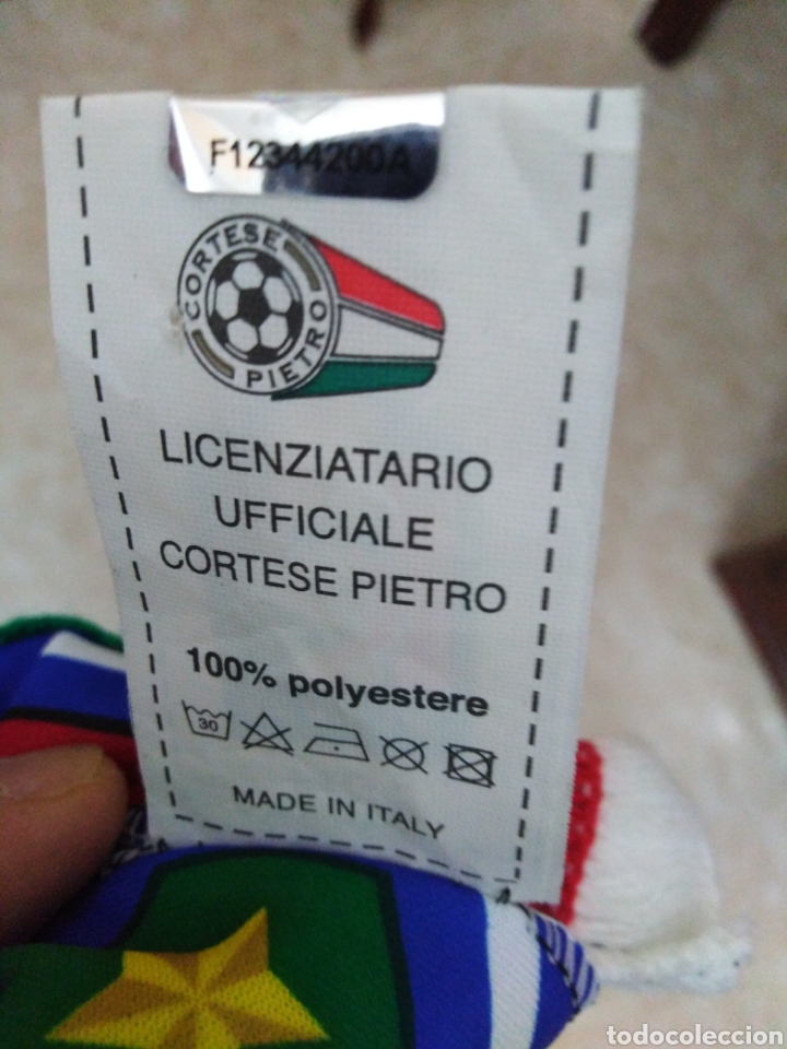 Coleccionismo deportivo: Bufanda Italia ( 18 X 132 ) - Foto 7 - 201129890