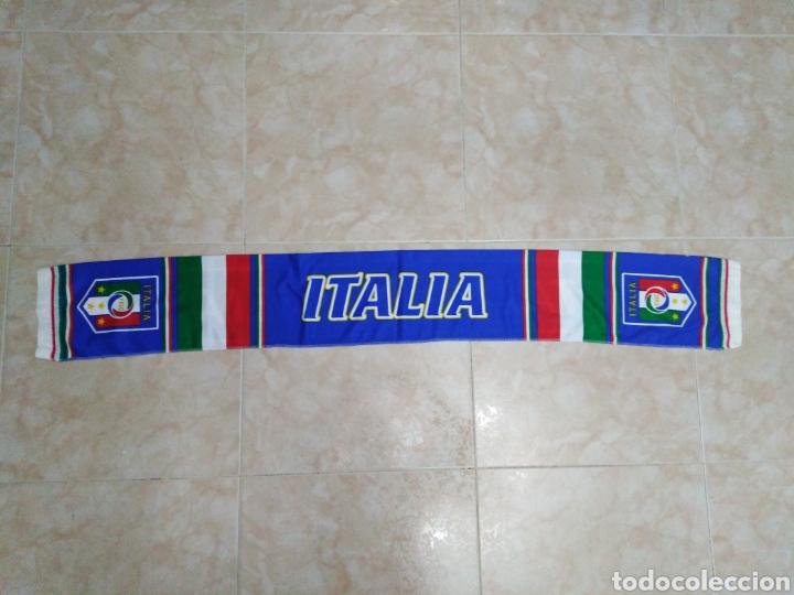 Coleccionismo deportivo: Bufanda Italia ( 18 X 132 ) - Foto 8 - 201129890