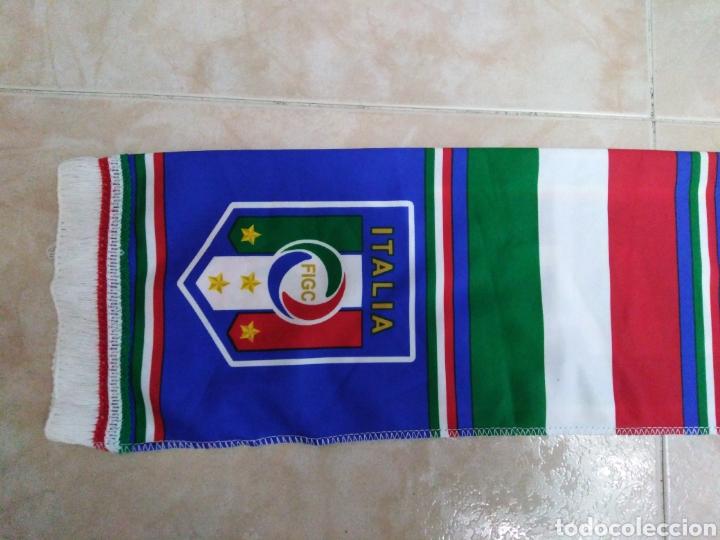 Coleccionismo deportivo: Bufanda Italia ( 18 X 132 ) - Foto 9 - 201129890