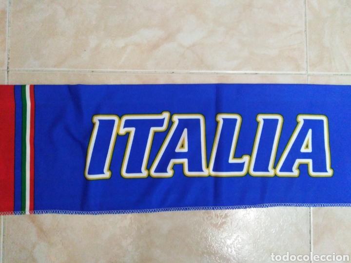 Coleccionismo deportivo: Bufanda Italia ( 18 X 132 ) - Foto 10 - 201129890