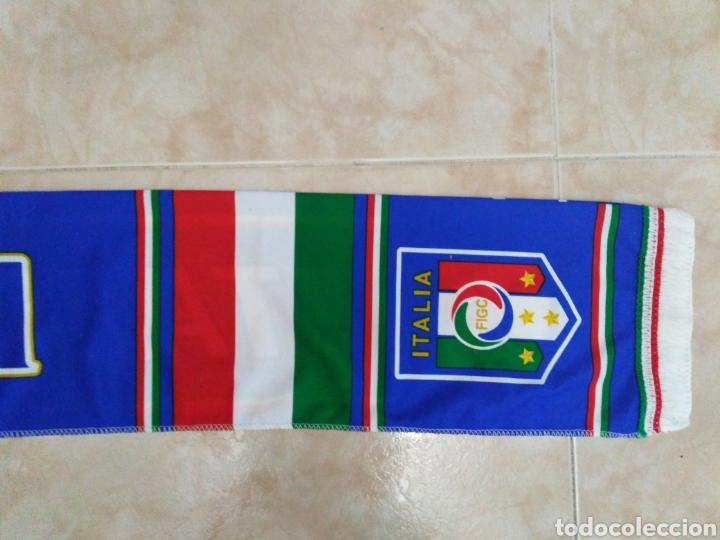 Coleccionismo deportivo: Bufanda Italia ( 18 X 132 ) - Foto 11 - 201129890