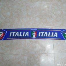 Coleccionismo deportivo: BUFANDA ITALIA ( 18 X 132 ). Lote 201129890