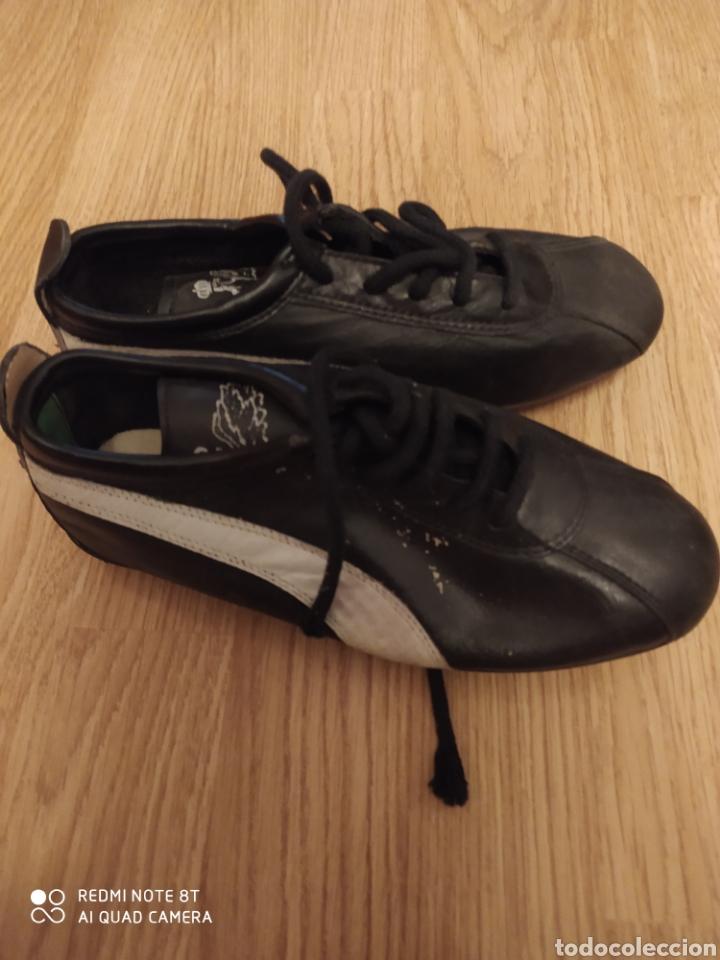 Coleccionismo deportivo: Botas de fútbol vintage talla 35 originales años 80 sin usar - Foto 4 - 201144678
