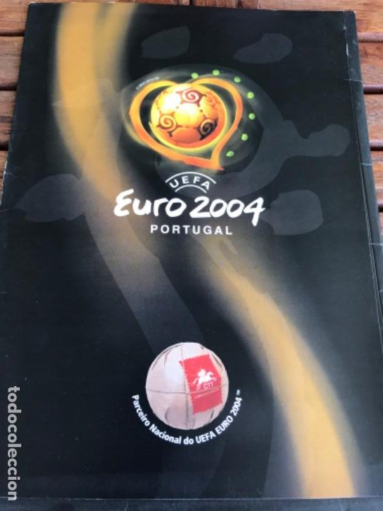 Coleccionismo deportivo: Roteiro Adidas Match Ball Official Stamps. CTT Correios. Uefa Euro 2004. Launching Kit - Foto 2 - 203111490