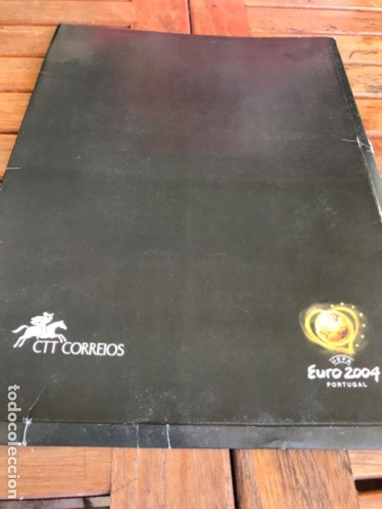 Coleccionismo deportivo: Roteiro Adidas Match Ball Official Stamps. CTT Correios. Uefa Euro 2004. Launching Kit - Foto 10 - 203111490