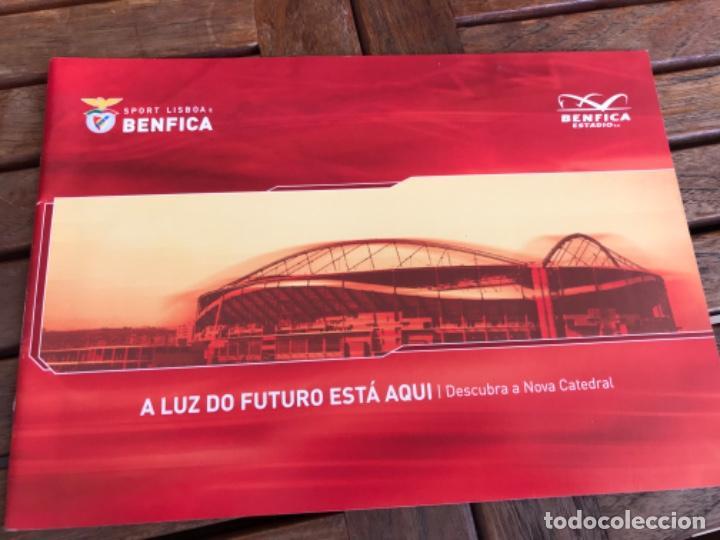 PRESENTACIÓN BENFICA ESTADIO DA LUZ. A NOVA CATEDRAL. FÚTBOL (Coleccionismo Deportivo - Material Deportivo - Fútbol)