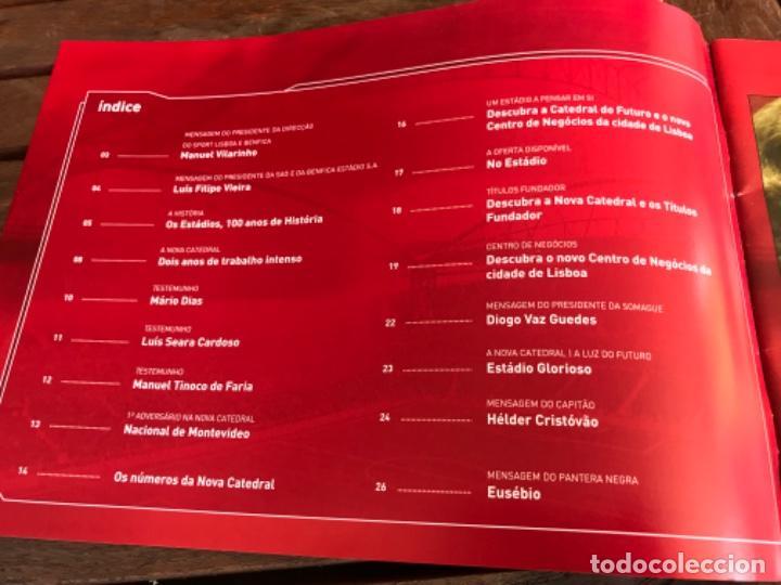 Coleccionismo deportivo: Presentación Benfica Estadio da Luz. A nova Catedral. Fútbol - Foto 2 - 237799020