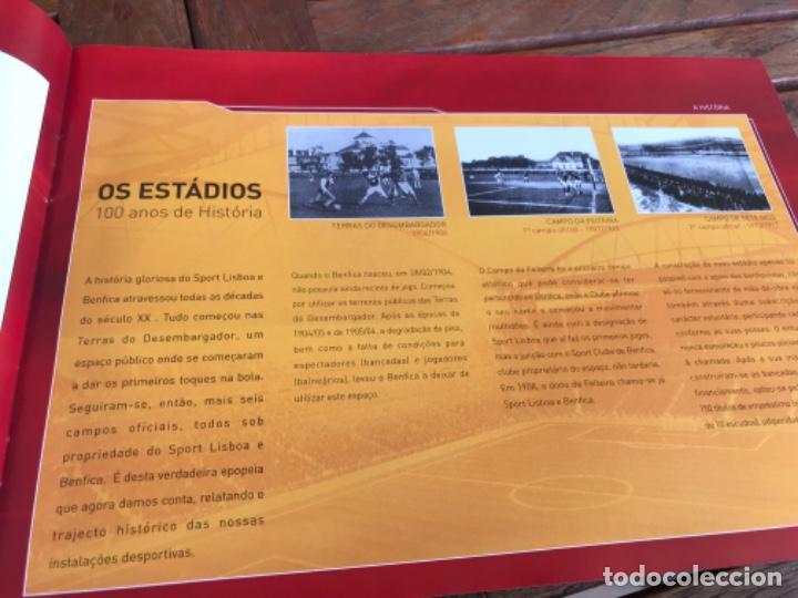 Coleccionismo deportivo: Presentación Benfica Estadio da Luz. A nova Catedral. Fútbol - Foto 5 - 237799020