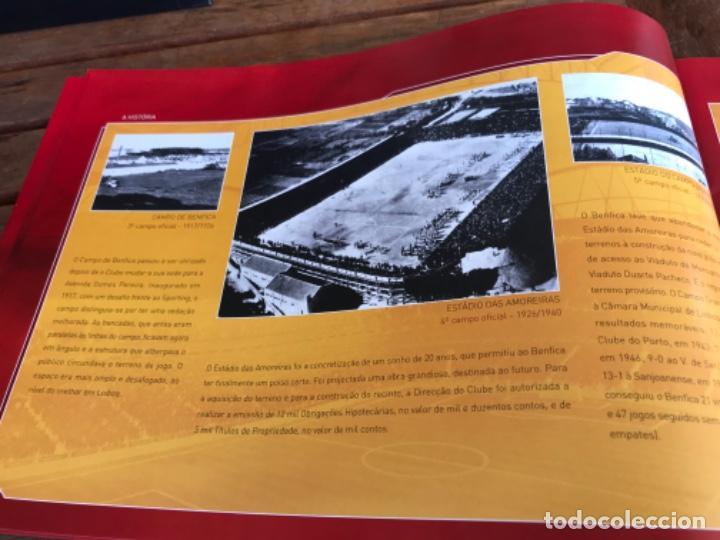 Coleccionismo deportivo: Presentación Benfica Estadio da Luz. A nova Catedral. Fútbol - Foto 6 - 237799020