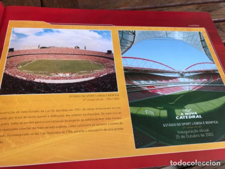 Coleccionismo deportivo: Presentación Benfica Estadio da Luz. A nova Catedral. Fútbol - Foto 7 - 237799020