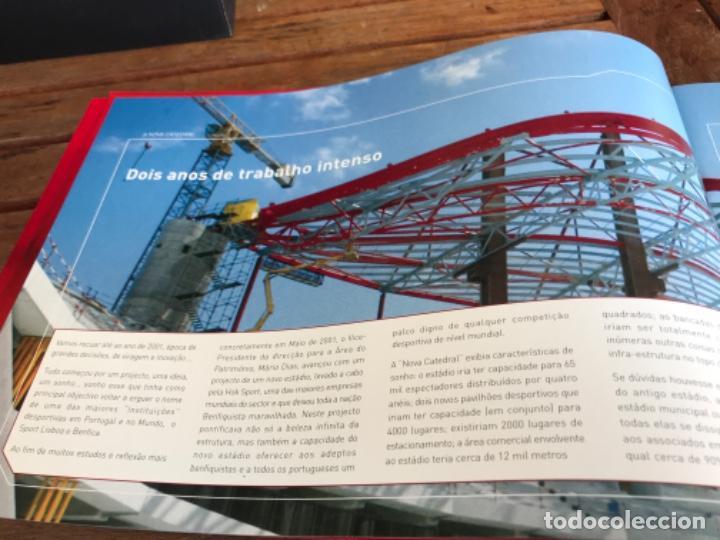 Coleccionismo deportivo: Presentación Benfica Estadio da Luz. A nova Catedral. Fútbol - Foto 8 - 237799020