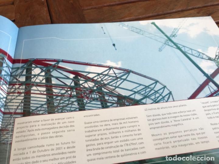 Coleccionismo deportivo: Presentación Benfica Estadio da Luz. A nova Catedral. Fútbol - Foto 9 - 237799020