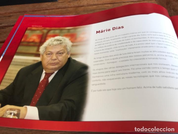 Coleccionismo deportivo: Presentación Benfica Estadio da Luz. A nova Catedral. Fútbol - Foto 10 - 237799020