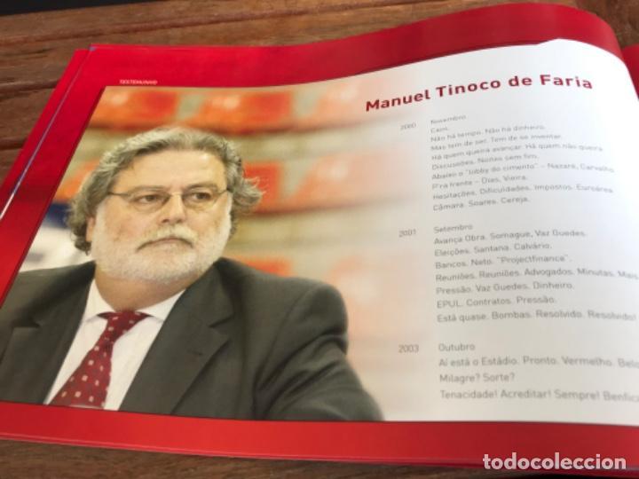 Coleccionismo deportivo: Presentación Benfica Estadio da Luz. A nova Catedral. Fútbol - Foto 12 - 237799020