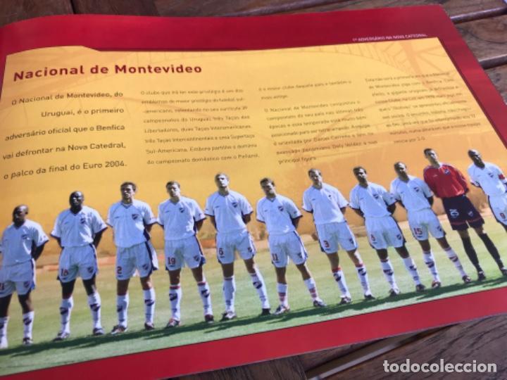 Coleccionismo deportivo: Presentación Benfica Estadio da Luz. A nova Catedral. Fútbol - Foto 13 - 237799020