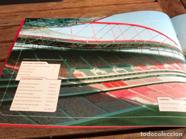 Coleccionismo deportivo: Presentación Benfica Estadio da Luz. A nova Catedral. Fútbol - Foto 14 - 237799020