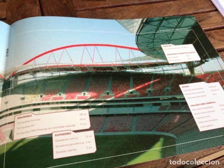 Coleccionismo deportivo: Presentación Benfica Estadio da Luz. A nova Catedral. Fútbol - Foto 15 - 237799020