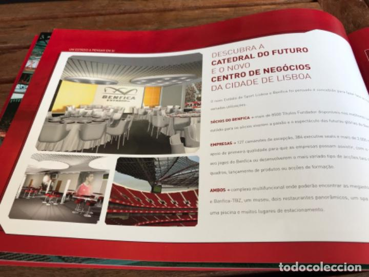 Coleccionismo deportivo: Presentación Benfica Estadio da Luz. A nova Catedral. Fútbol - Foto 16 - 237799020