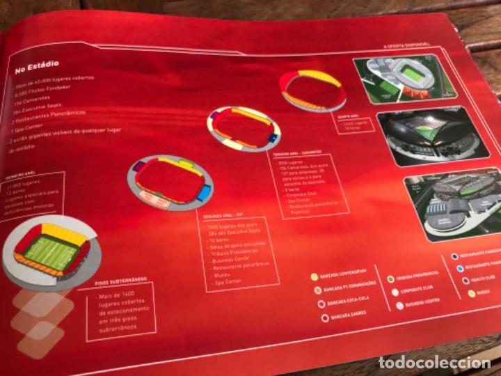 Coleccionismo deportivo: Presentación Benfica Estadio da Luz. A nova Catedral. Fútbol - Foto 17 - 237799020