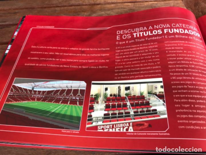 Coleccionismo deportivo: Presentación Benfica Estadio da Luz. A nova Catedral. Fútbol - Foto 18 - 237799020