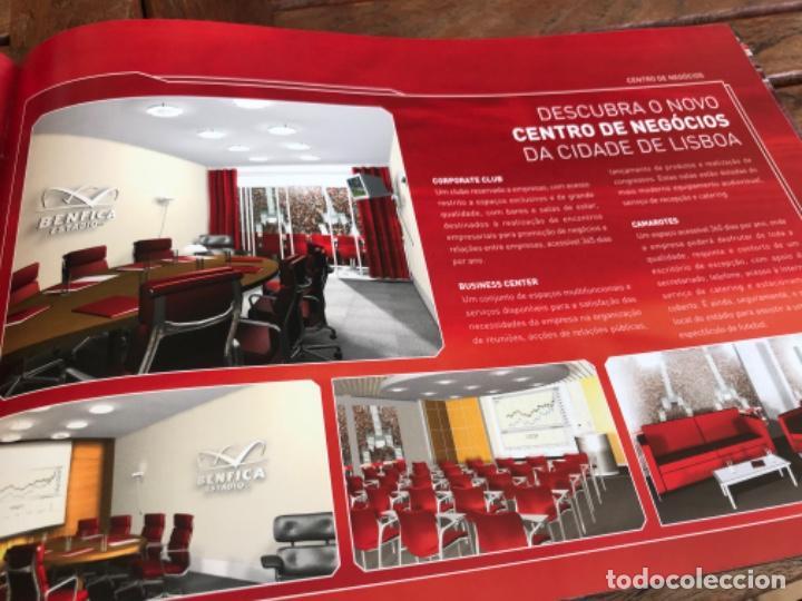 Coleccionismo deportivo: Presentación Benfica Estadio da Luz. A nova Catedral. Fútbol - Foto 19 - 237799020