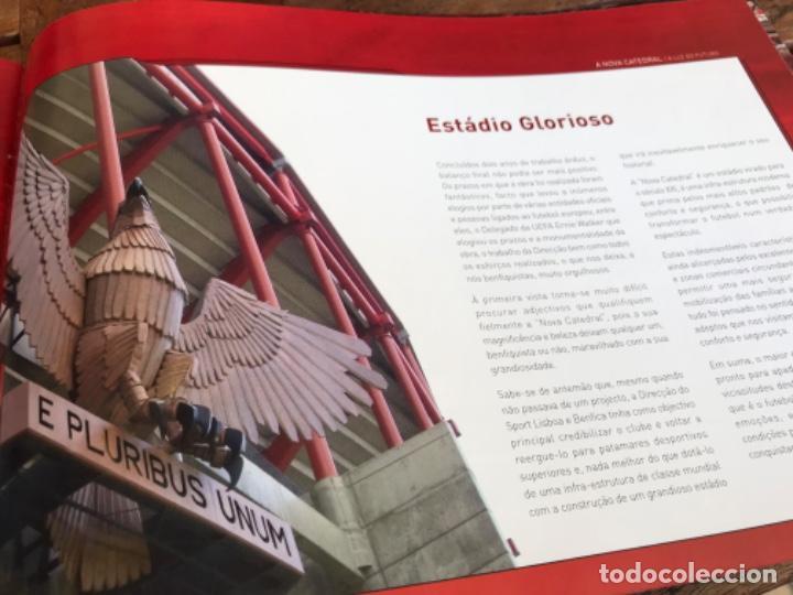 Coleccionismo deportivo: Presentación Benfica Estadio da Luz. A nova Catedral. Fútbol - Foto 23 - 237799020