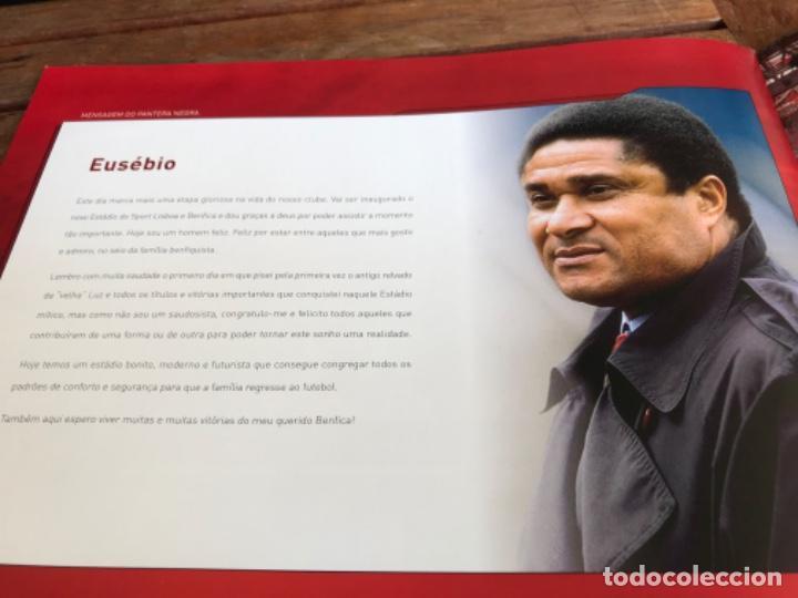 Coleccionismo deportivo: Presentación Benfica Estadio da Luz. A nova Catedral. Fútbol - Foto 26 - 237799020
