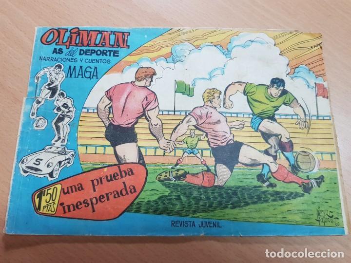 REVISTA JUVENIL FUTBOL OLIMAN AS DEL DEPORTE MAGA N. 8 DEL SOL REAL MADRID 1961 (Coleccionismo Deportivo - Material Deportivo - Fútbol)