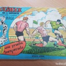 Coleccionismo deportivo: REVISTA JUVENIL FUTBOL OLIMAN AS DEL DEPORTE MAGA N. 8 DEL SOL REAL MADRID 1961. Lote 204803591