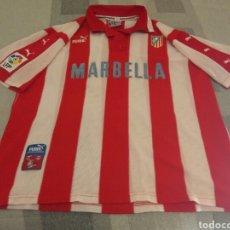 Coleccionismo deportivo: CAMISETA ATLÉTICO MADRID PUMA MARBELLA. Lote 205560845