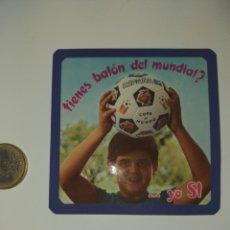 Collectionnisme sportif: PEGATINA MUNDIAL 82 NARANJITO FUTBOL BALON. Lote 205756180