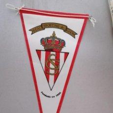 Collezionismo sportivo: BANDERIN SPORTING GIJON FUTBOL QUINI EL MOLINON ASTURIAS. Lote 205782193