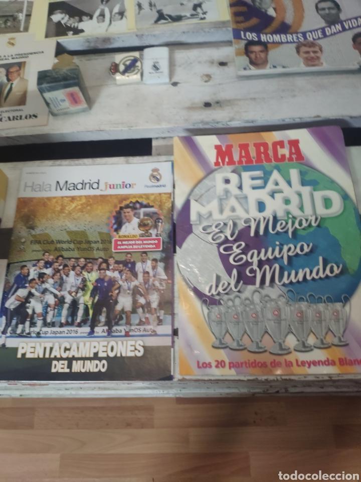 Coleccionismo deportivo: Lote productos real Madrid club de fútbol - Foto 3 - 205817402