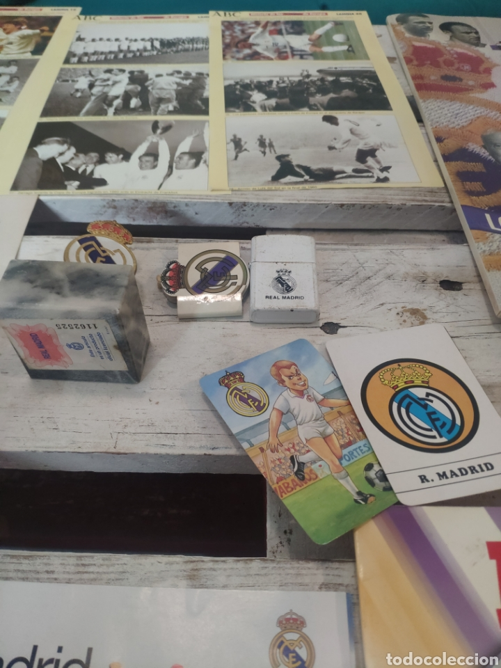 Coleccionismo deportivo: Lote productos real Madrid club de fútbol - Foto 4 - 205817402