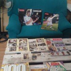 Coleccionismo deportivo: LOTE PRODUCTOS REAL MADRID CLUB DE FÚTBOL. Lote 205817402