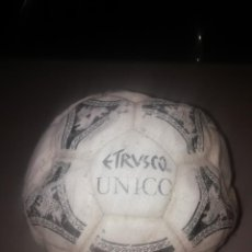 Coleccionismo deportivo: BALÓN DE FÚTBOL. OFFICIAL BALL ADIDAS ETRUSCO ÚNICO 1990. Lote 206187145