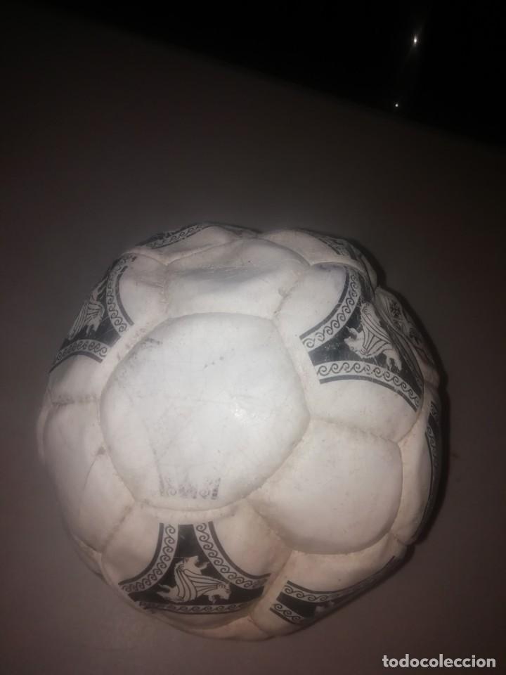 Coleccionismo deportivo: Balón de fútbol. Official Ball Adidas Etrusco Único 1990 - Foto 4 - 206187145