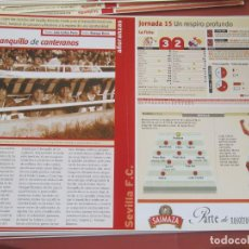 Coleccionismo deportivo: SEVILLA F. C. - AÑORANZAS - FICHA JORNADA 15 - SEVILLA F.C. -BARCELONA - TEMPORADA 1999-2000.. Lote 206201916