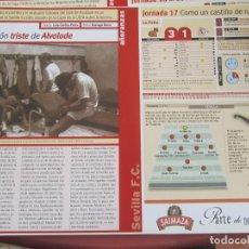 Coleccionismo deportivo: SEVILLA F. C. - AÑORANZAS - FICHA JORNADA 17 - MALLORCA-SEVILLA F.C.- TEMPORADA 1999-2000.. Lote 206202630