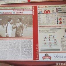 Coleccionismo deportivo: SEVILLA F. C. - AÑORANZAS - FICHA JORNADA 24 - ESPANYOL-SEVILLA F.C.- TEMPORADA 1999-2000.. Lote 206203926
