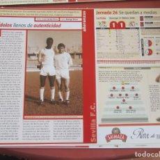 Coleccionismo deportivo: SEVILLA F. C. - AÑORANZAS - FICHA JORNADA 26 - REAL BETIS-SEVILLA F.C. - TEMPORADA 1999-2000.. Lote 206204478
