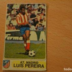 Collectionnisme sportif: CROMO MAL RECORTADO DE LUIZ PEREIRA (AT MADRID). Lote 206456916