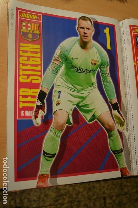 POSTER TEMPORADA 2018-19 TER STEGEN (FC BARCELONA) MEDIDAS 30 X 22 CMS (Coleccionismo Deportivo - Material Deportivo - Fútbol)