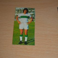Coleccionismo deportivo: CROMO MAL RECORTADO DE GOMEZ VOGLINO (ELCHE). Lote 206465152